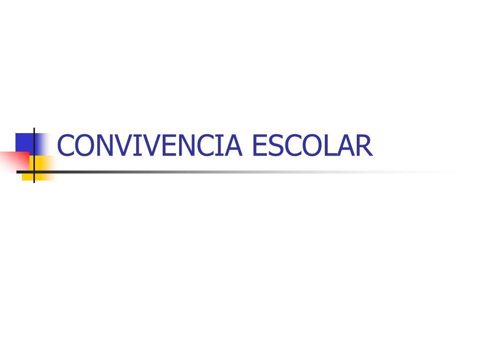 EL PLAN DE CONVIVENCIA FASES PARA LA REALIZACIÓN DE UN PLAN DE CONVIVENCIA