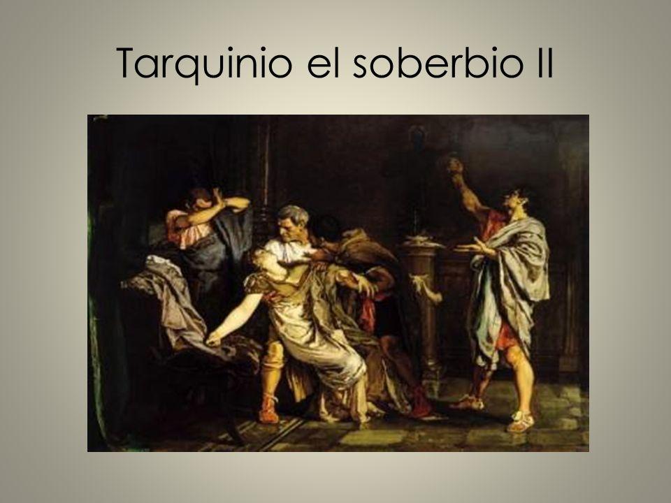 Tarquinio el soberbio II
