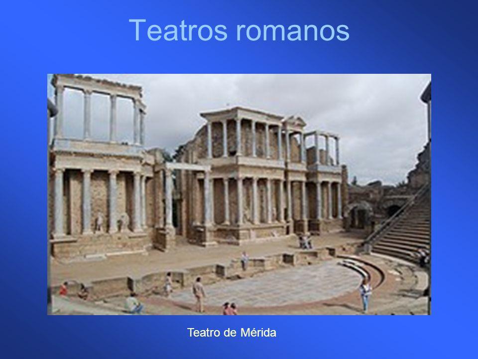 Teatros romanos Teatro de Mérida