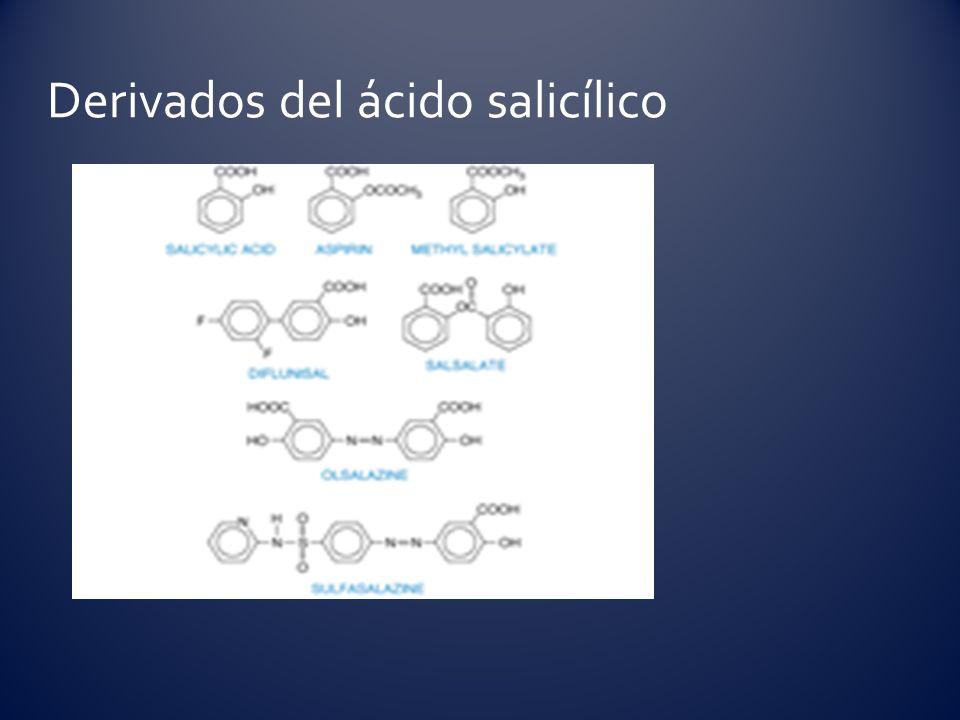 Derivados del ácido salicílico