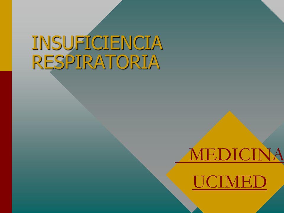 INSUFICIENCIA RESPIRATORIA MEDICINA UCIMED