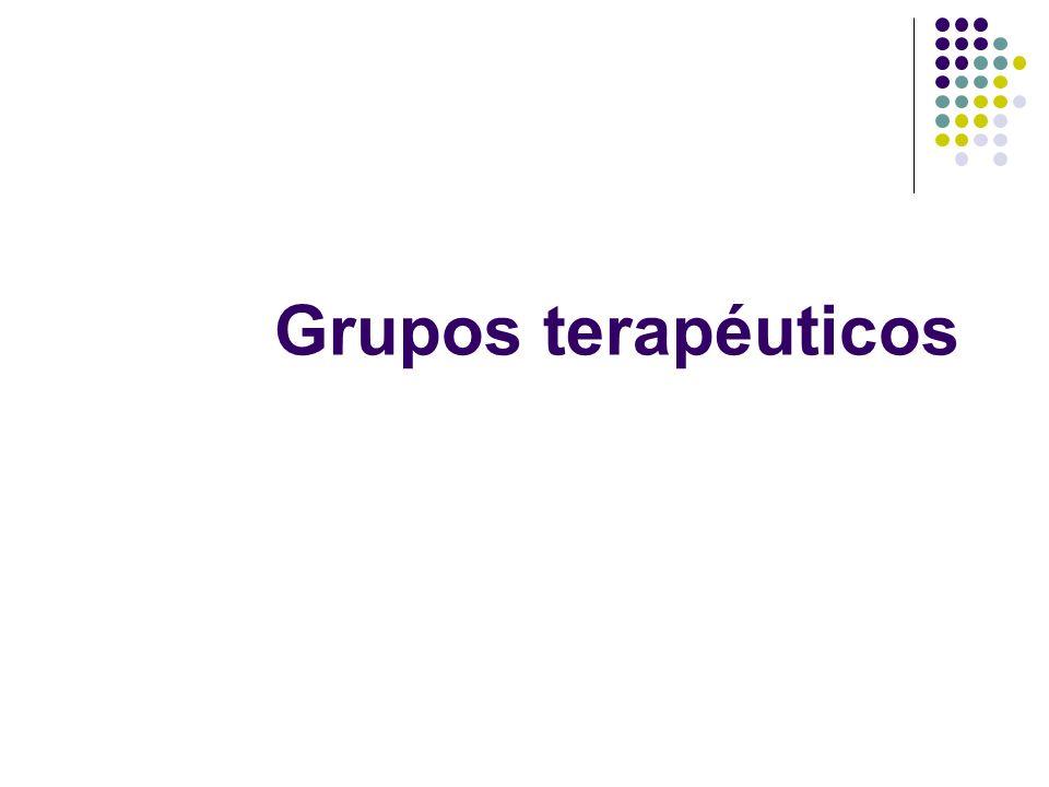 Grupos terapéuticos