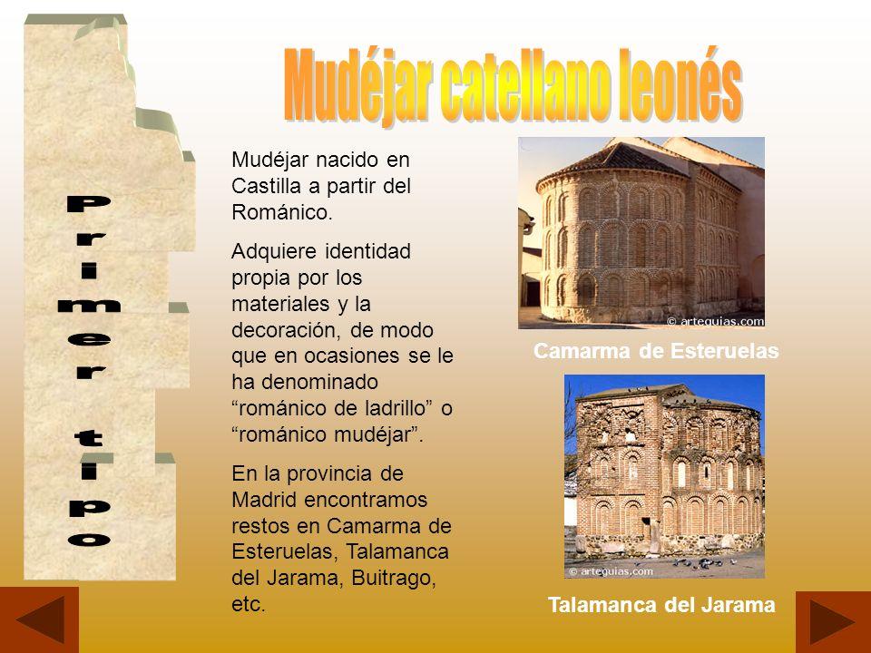 Mudéjar nacido en Castilla a partir del Románico. Adquiere identidad propia por los materiales y la decoración, de modo que en ocasiones se le ha deno