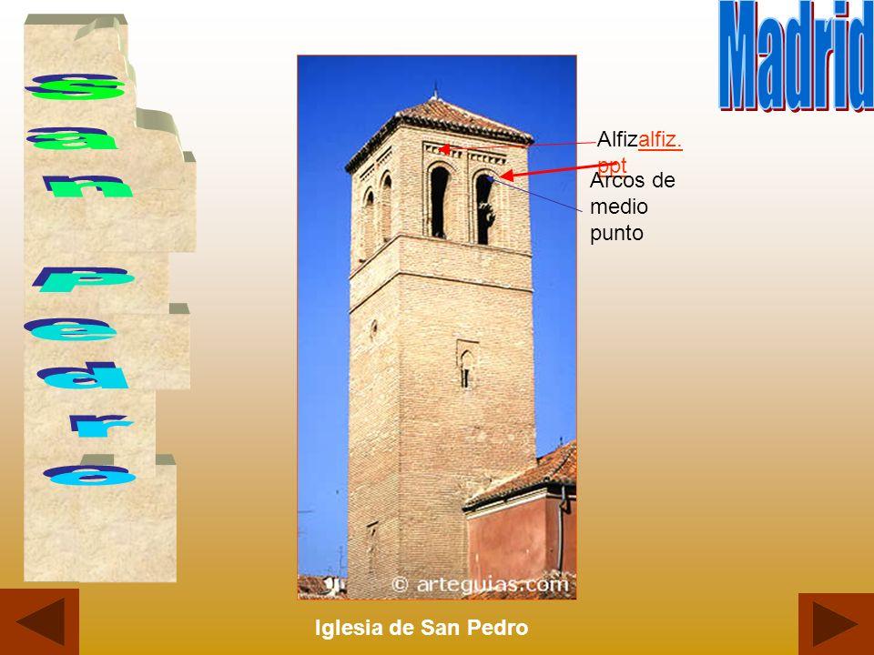 Iglesia de San Pedro Alfizalfiz. pptalfiz. ppt Arcos de medio punto