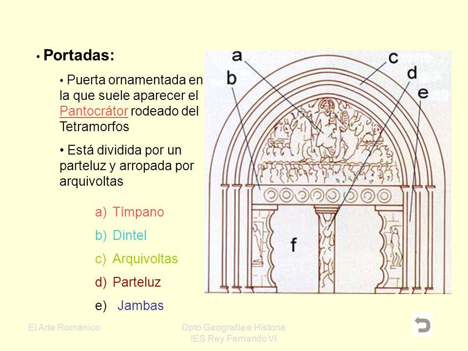 El Arte RománicoDpto Geografía e Historia IES Rey Fernando VI Torres: Su estructura puede ser exenta o adosada, con planta circular, cuadrada o poligo