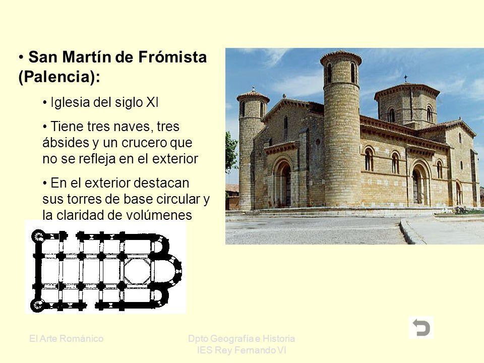 El Arte RománicoDpto Geografía e Historia IES Rey Fernando VI San Clemente de Tahull (Lleida)