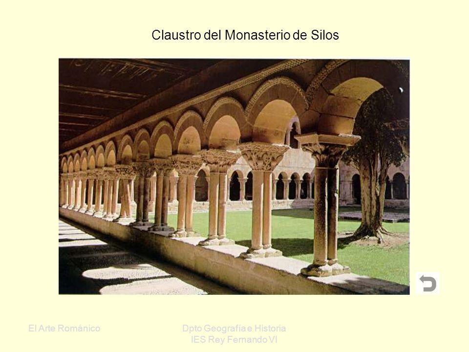 El Arte RománicoDpto Geografía e Historia IES Rey Fernando VI Castillo de Loarre (Huesca): Uno de los castillos mejor conservados de España Ejemplo de