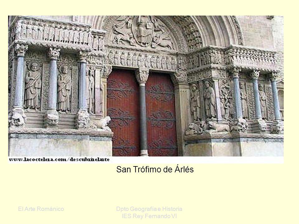 El Arte RománicoDpto Geografía e Historia IES Rey Fernando VI Románico en Francia: Cuna de la arquitectura románica Diferencias regionales Extensión a