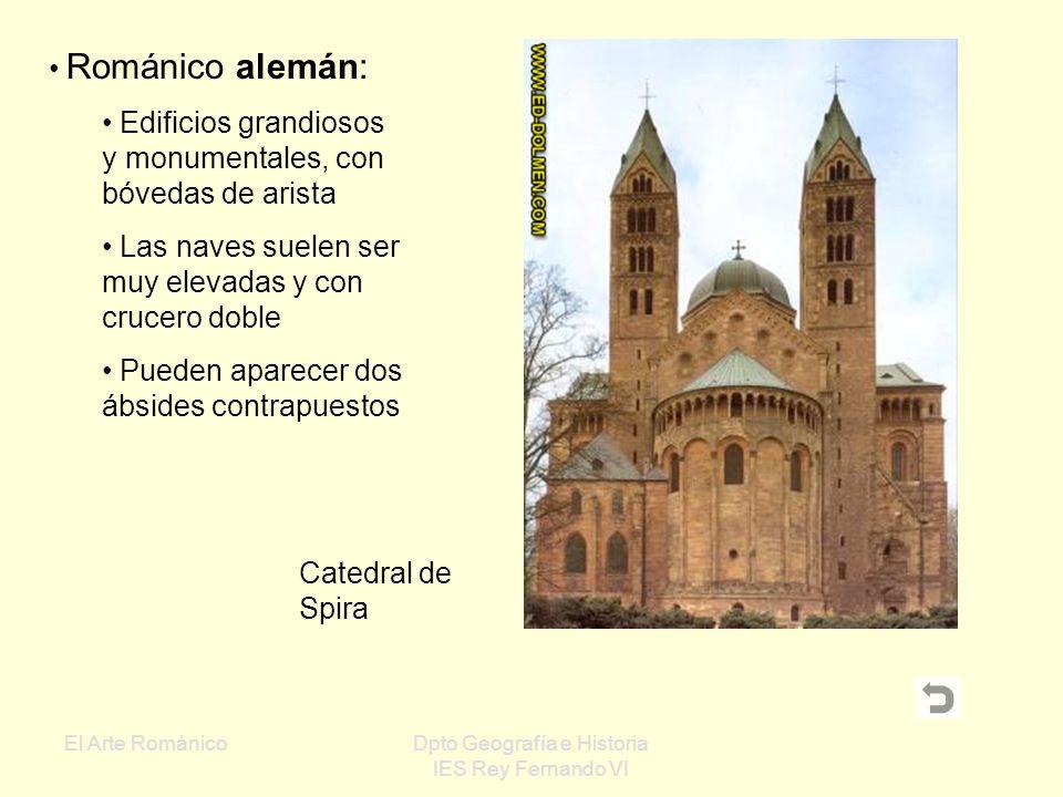 El Arte RománicoDpto Geografía e Historia IES Rey Fernando VI San Ambrosio de Milán