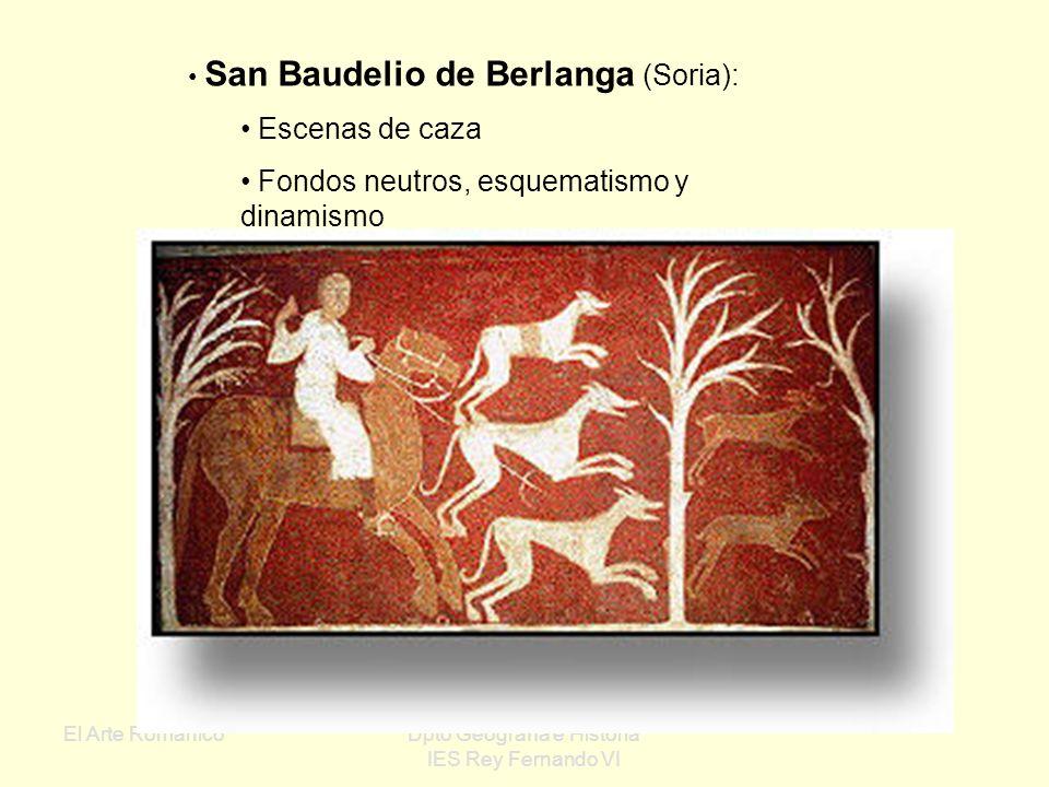 El Arte RománicoDpto Geografía e Historia IES Rey Fernando VI Tetramorfos San Mateo San Juan San MarcosSan Lucas Cristo en Majestad