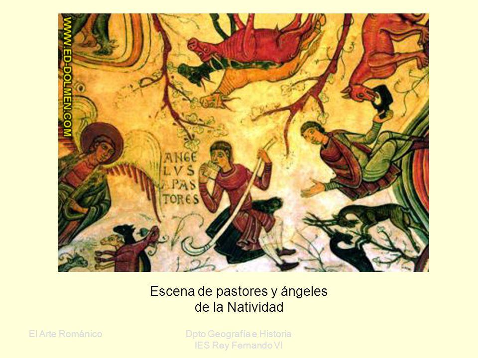 El Arte RománicoDpto Geografía e Historia IES Rey Fernando VI Panteón de San Isidoro de León: Cripta de la catedral Excelente conservación Gama de col