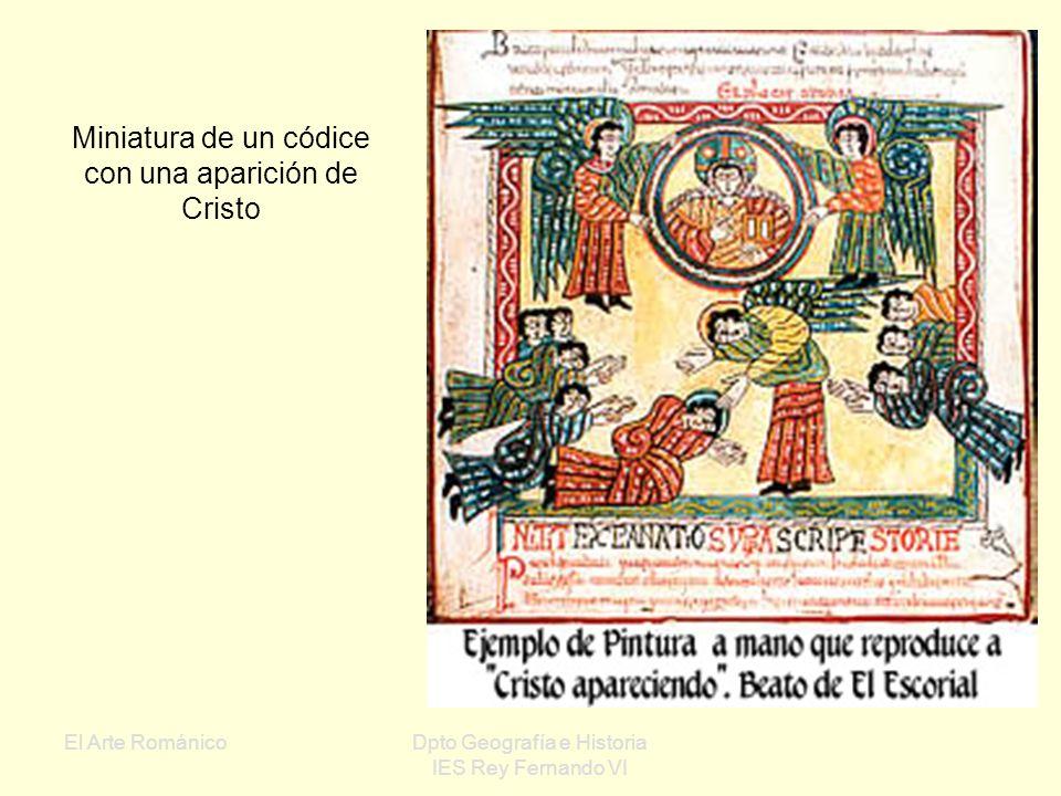 El Arte RománicoDpto Geografía e Historia IES Rey Fernando VI Escena de las tareas agrícolas: la vendimia