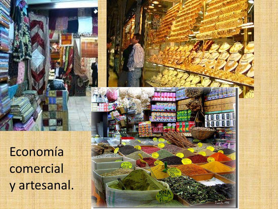 Economía comercial y artesanal.