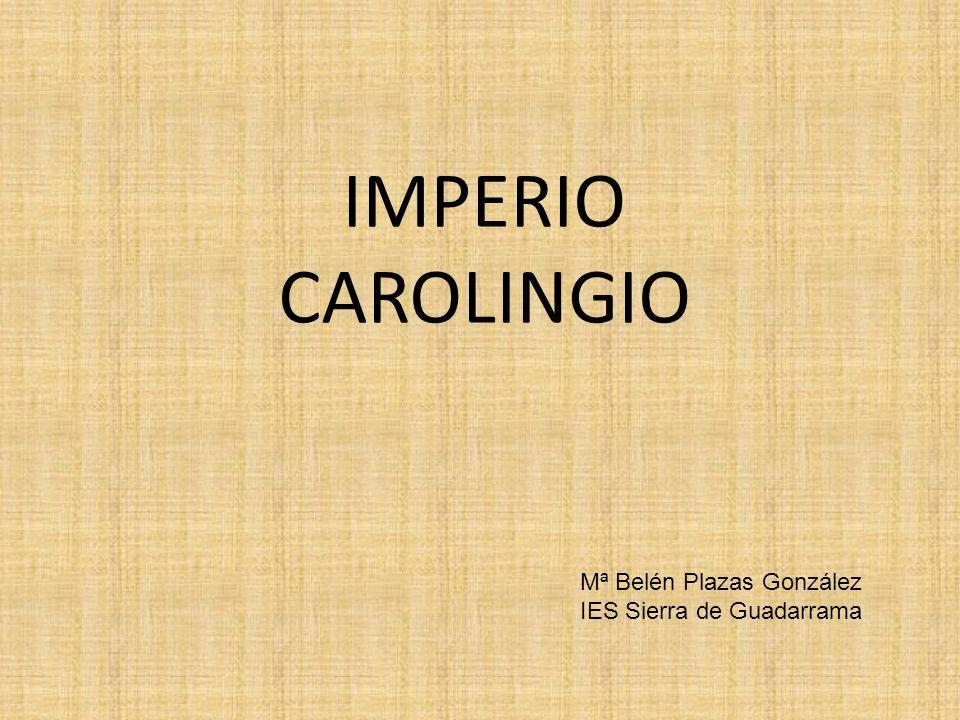 El imperio carolingio tiene su origen en el reino de los francos.