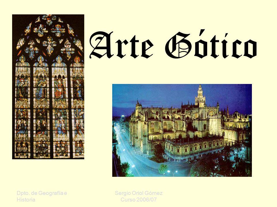Dpto. de Geografía e Historia Sergio Oriol Gómez Curso 2006/07 Pórtico de la Catedral de Pamplona