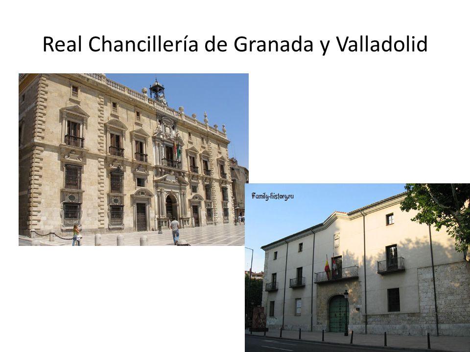 Real Chancillería de Granada y Valladolid