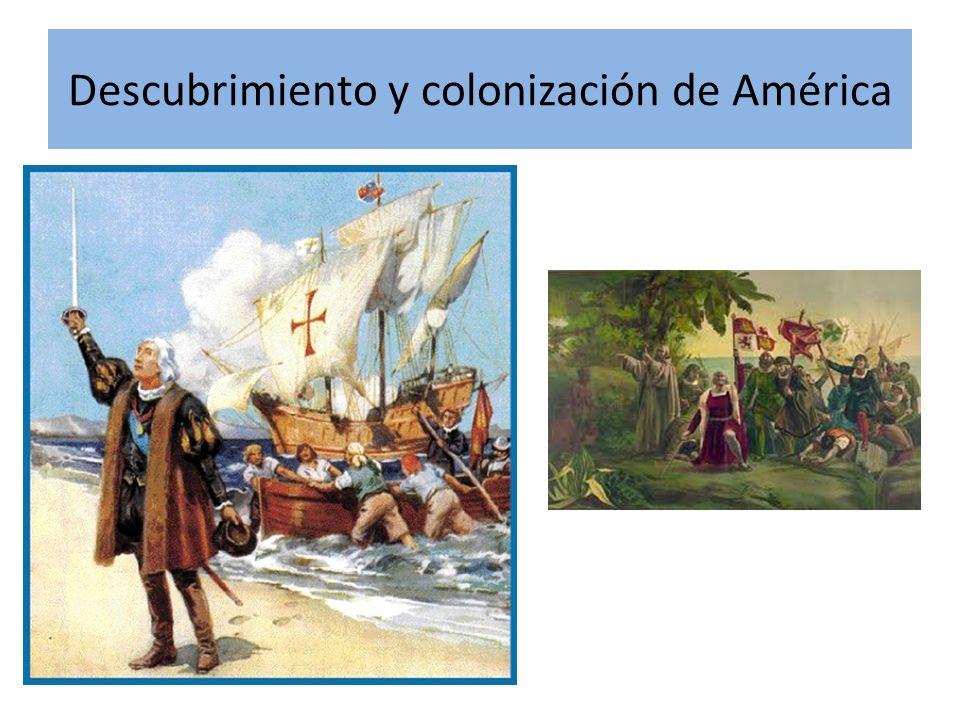 Descubrimiento y colonización de América