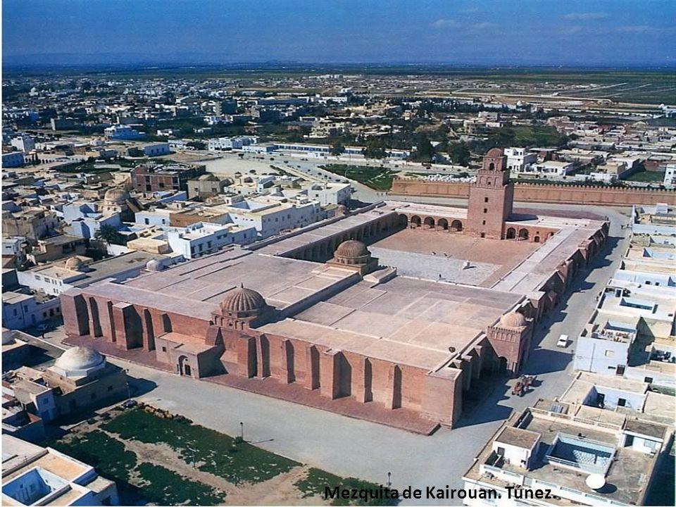 Mezquita de Kairouan. Túnez.