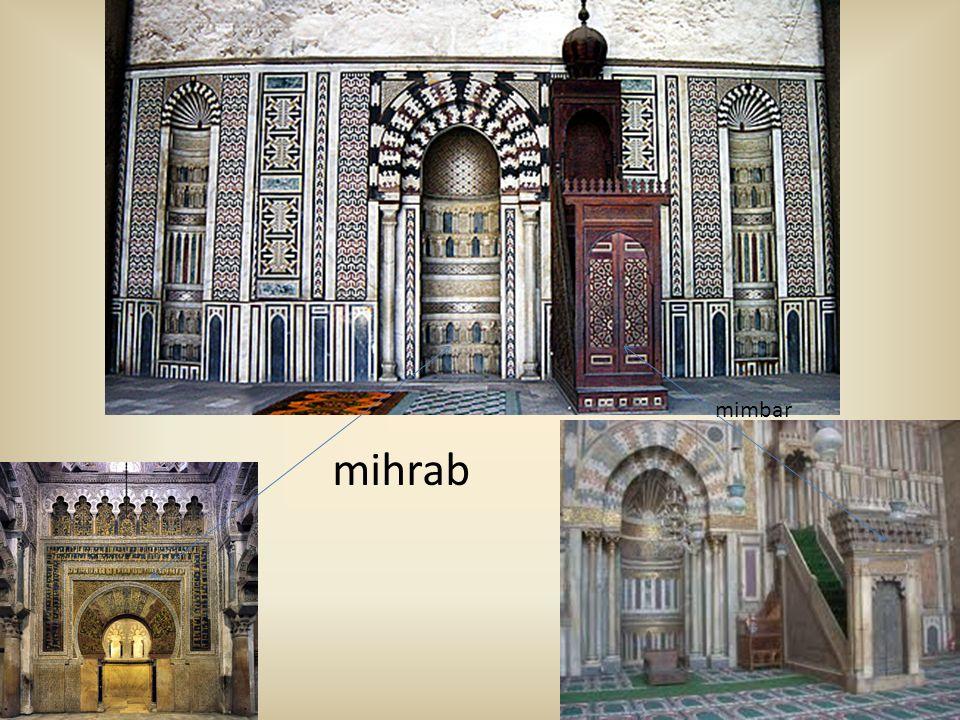 mihrab mimbar