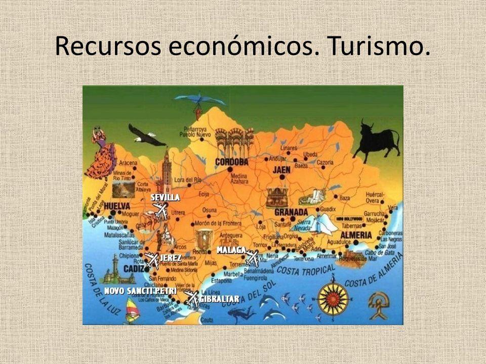 Recursos económicos. Turismo.