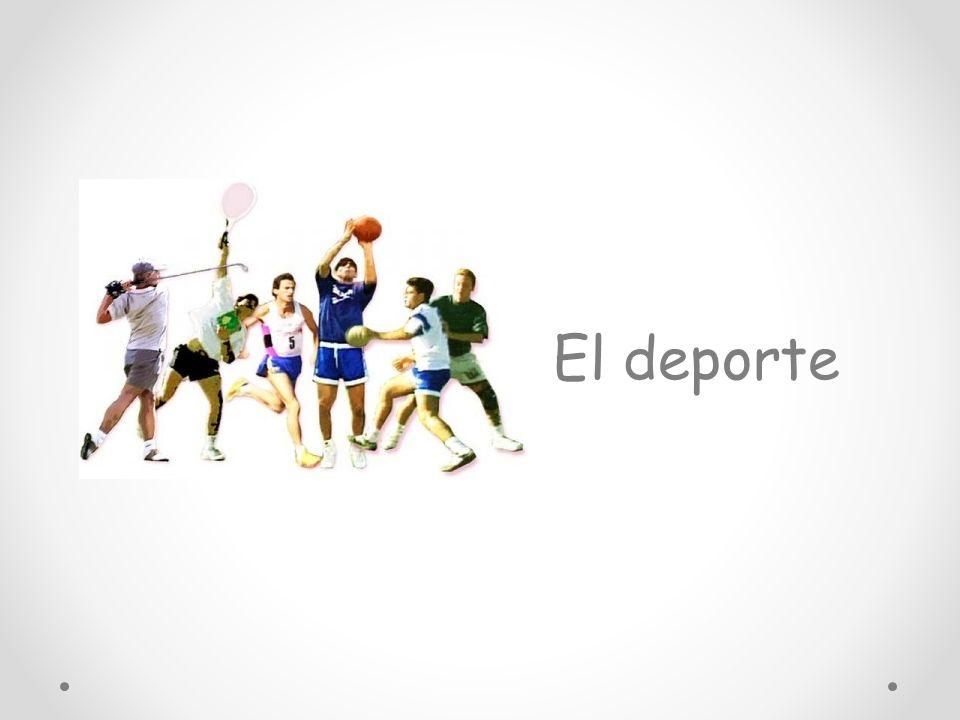 El deporte