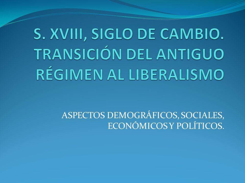 ASPECTOS DEMOGRÁFICOS, SOCIALES, ECONÓMICOS Y POLÍTICOS.