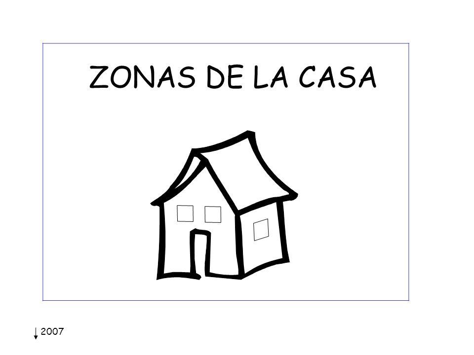2007 ZONAS DE LA CASA
