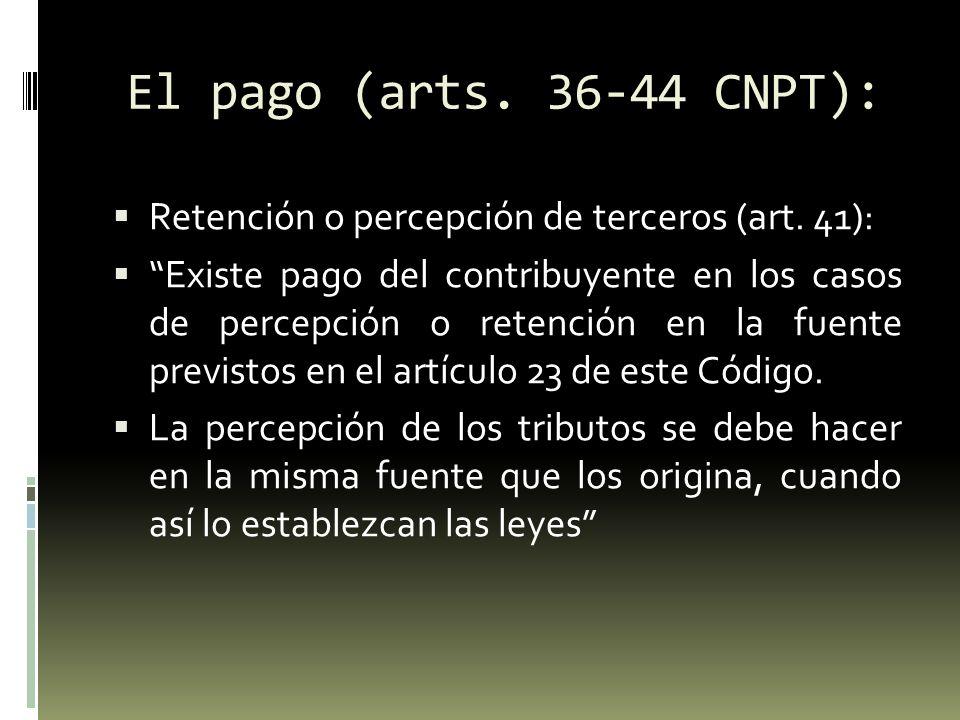 Compensación (arts.45-48 CNPT): Art.
