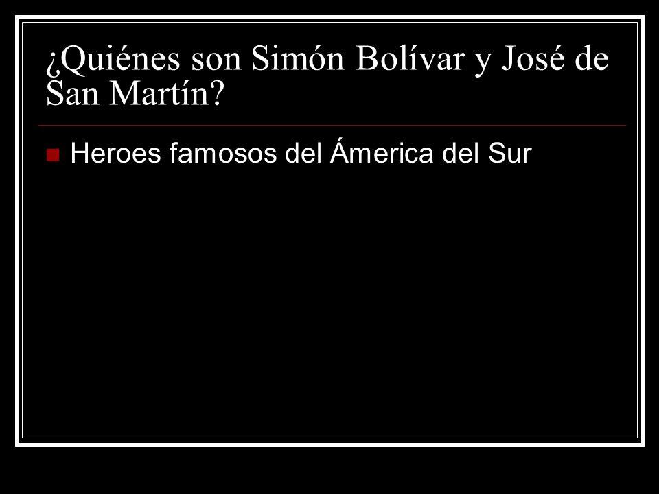 ¿Quiénes son Simón Bolívar y José de San Martín? Heroes famosos del Ámerica del Sur