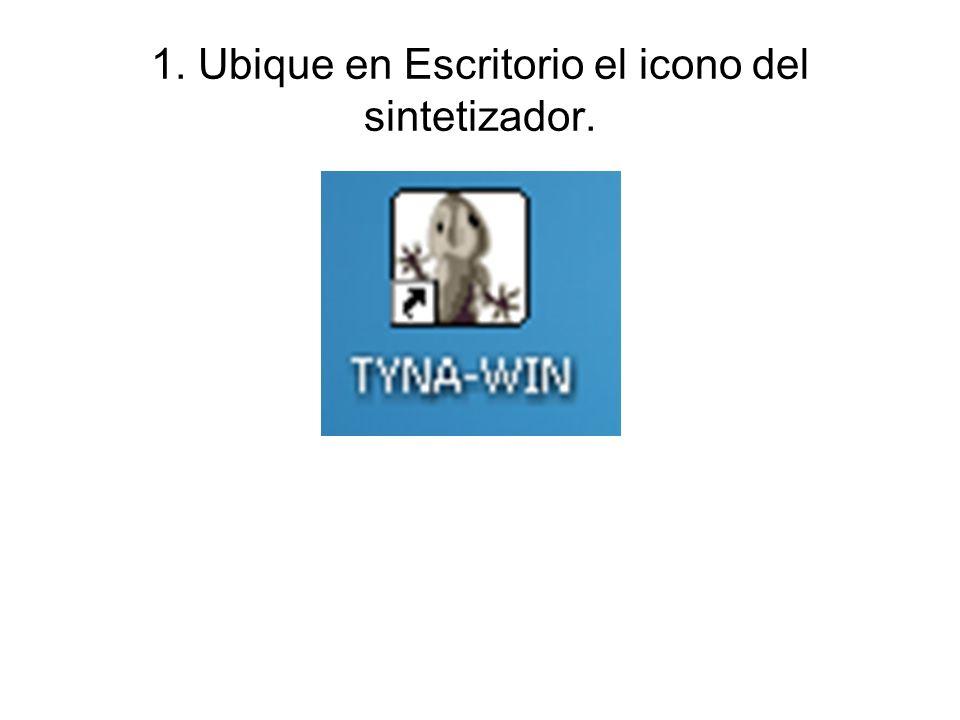 2. Al presionarlo se abrirá la siguiente ventana: