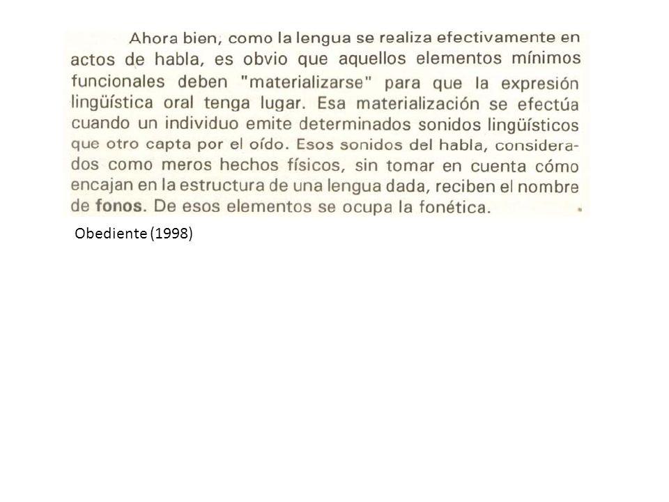 Obediente (1998)