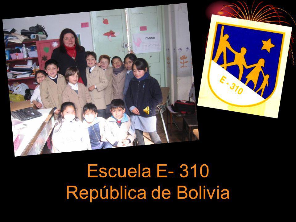 Escuela E- 310 República de Bolivia