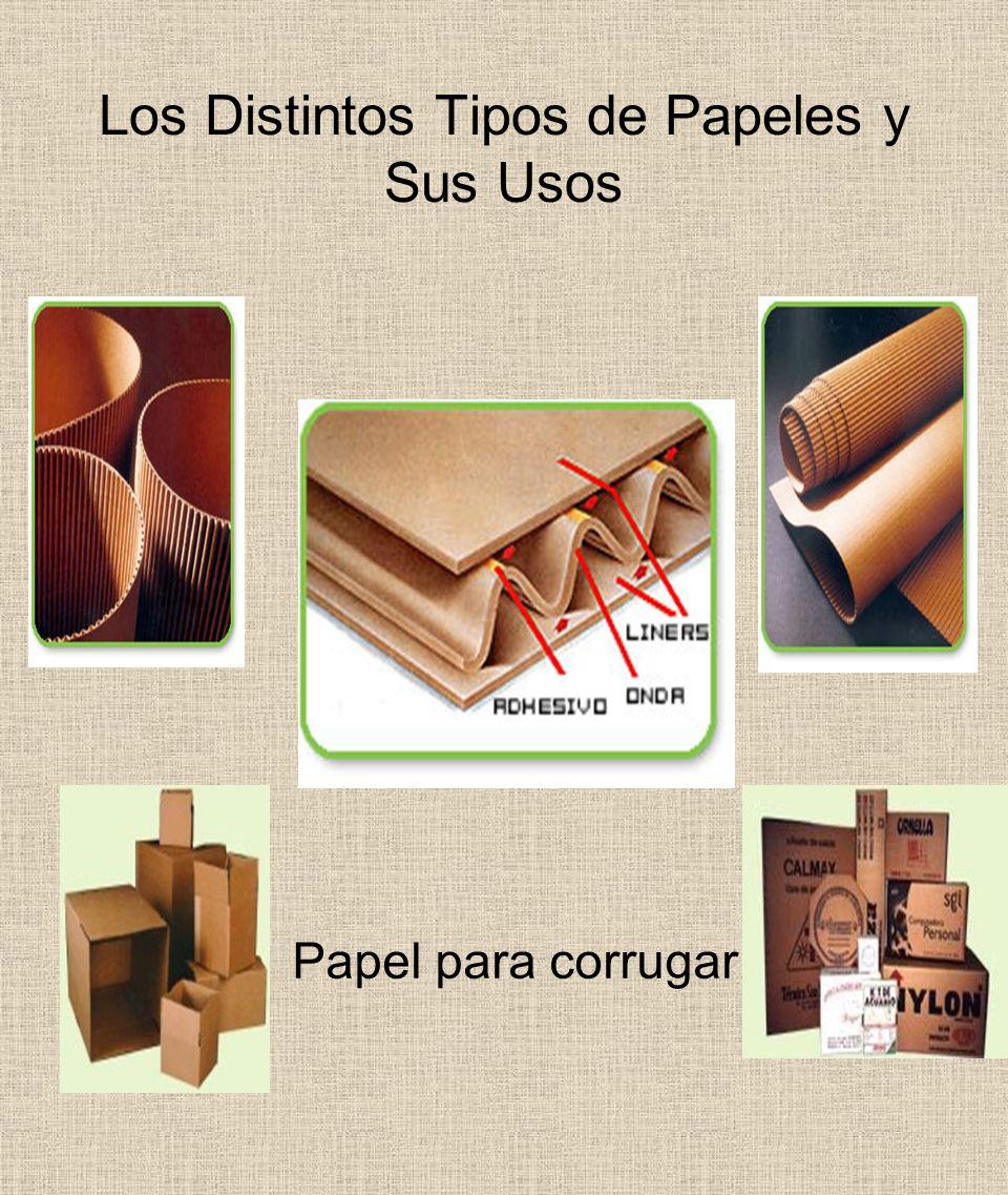 Los Distintos Tipos de Papeles y Sus Usos Papel para corrugar