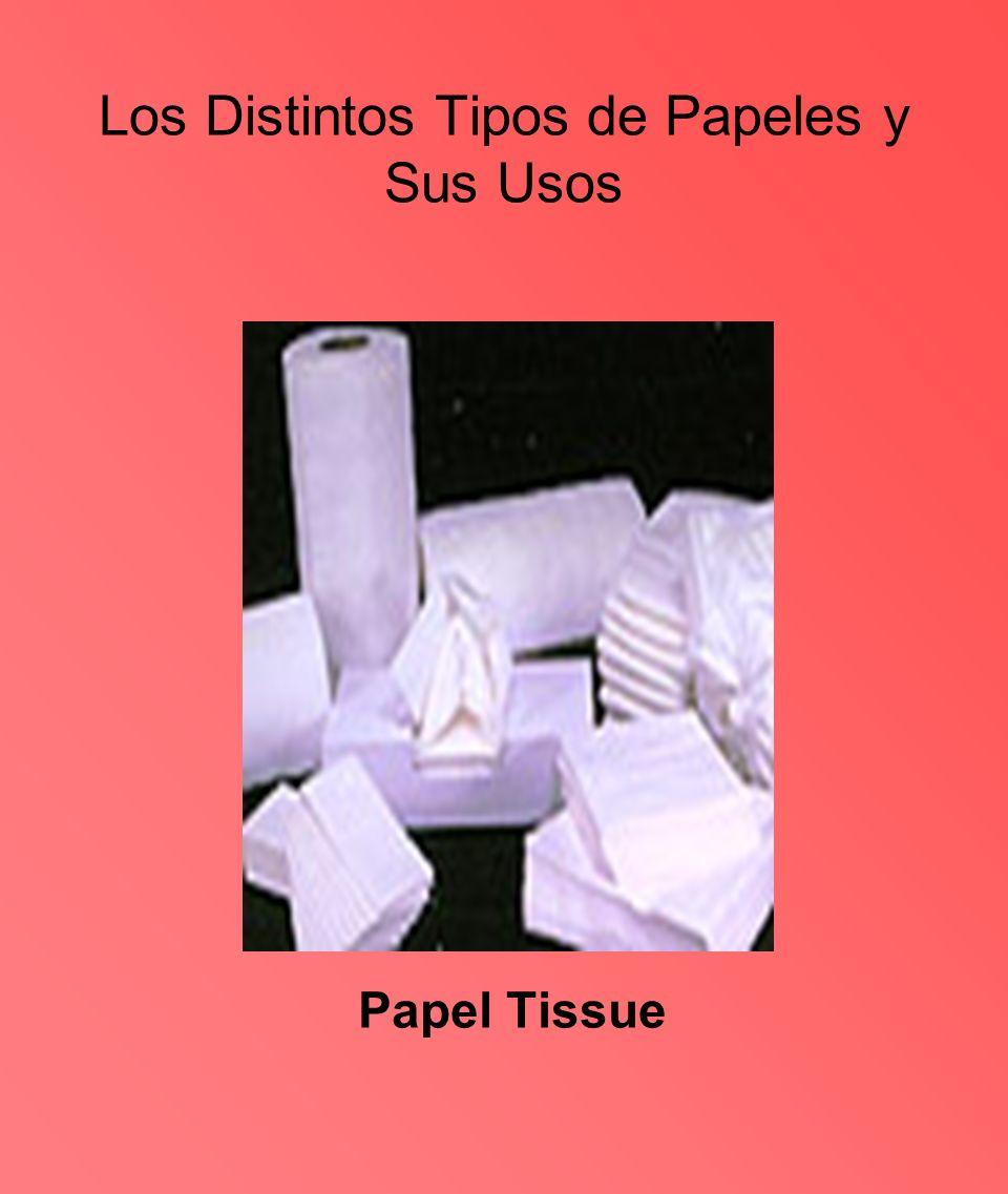 Los Distintos Tipos de Papeles y Sus Usos Papel Tissue