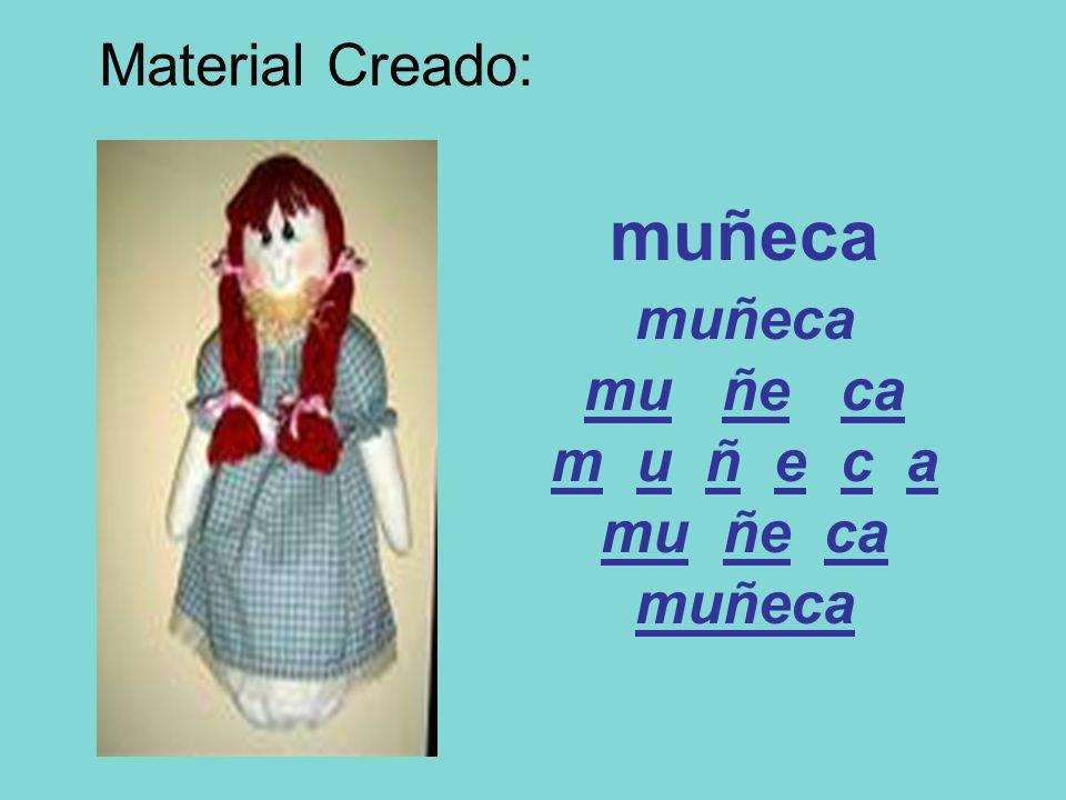 muñeca muñeca mu ñe ca m u ñ e c a mu ñe ca muñeca Material Creado: