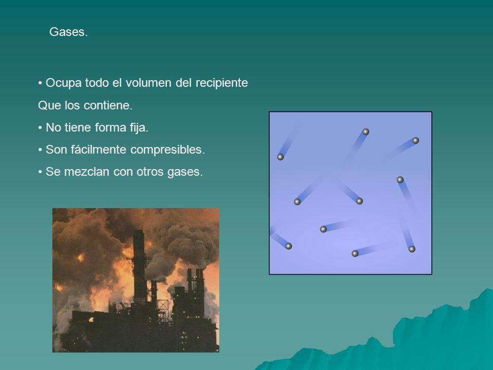 7.Las temperaturas de fusión y ebullición.