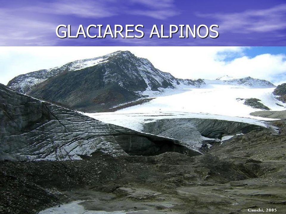GLACIARES ALPINOS GLACIARES ALPINOS