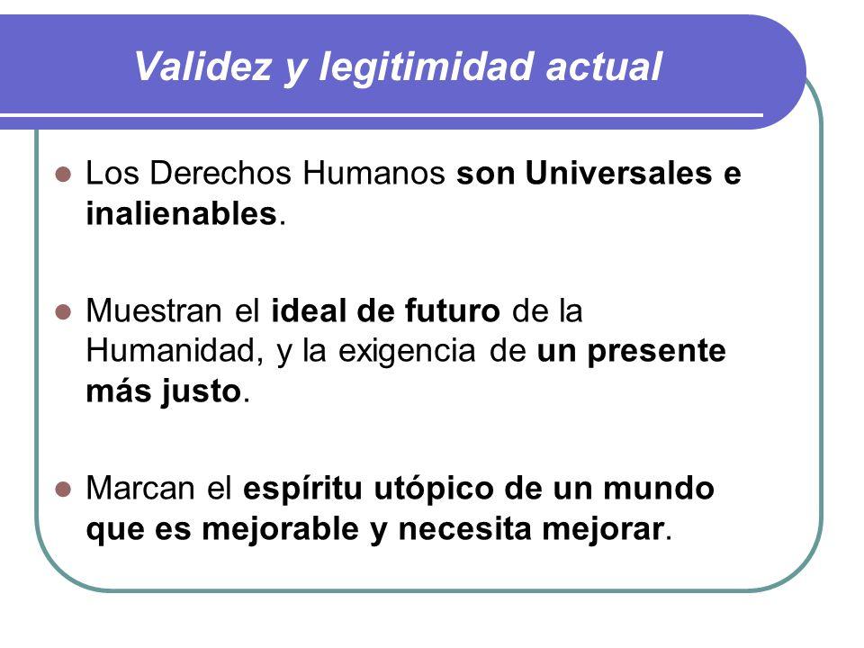 Origen inmediato de la Declaración Universal de DDHH Creación de las Naciones Unidas (ONU): Después de la II Guerra Mundial. Necesidad de legislar los