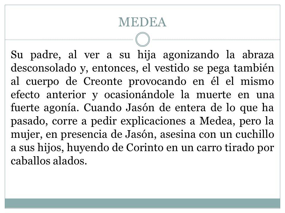 MEDEA Medea se estrena en el 431 a.C.