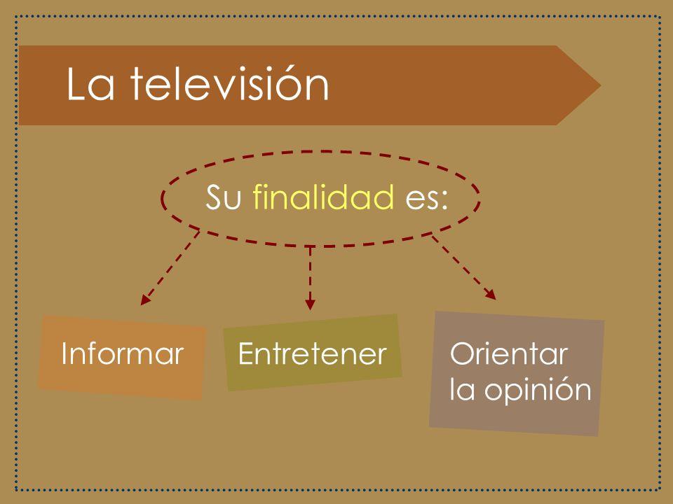 La televisión Goza de una gran difusión y de mayor relevancia en la sociedad, en comparación con los otros medios, pues ha modificado conductas sociales, costumbres familiares y estructuras de pensamiento.