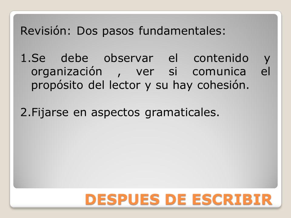 LA LÓGICA Organización de las ideas y de la presentación.