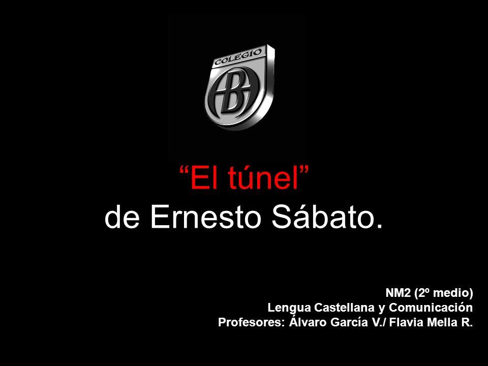 El túnel de Ernesto Sábato. NM2 (2º medio) Lengua Castellana y Comunicación Profesores: Álvaro García V./ Flavia Mella R.