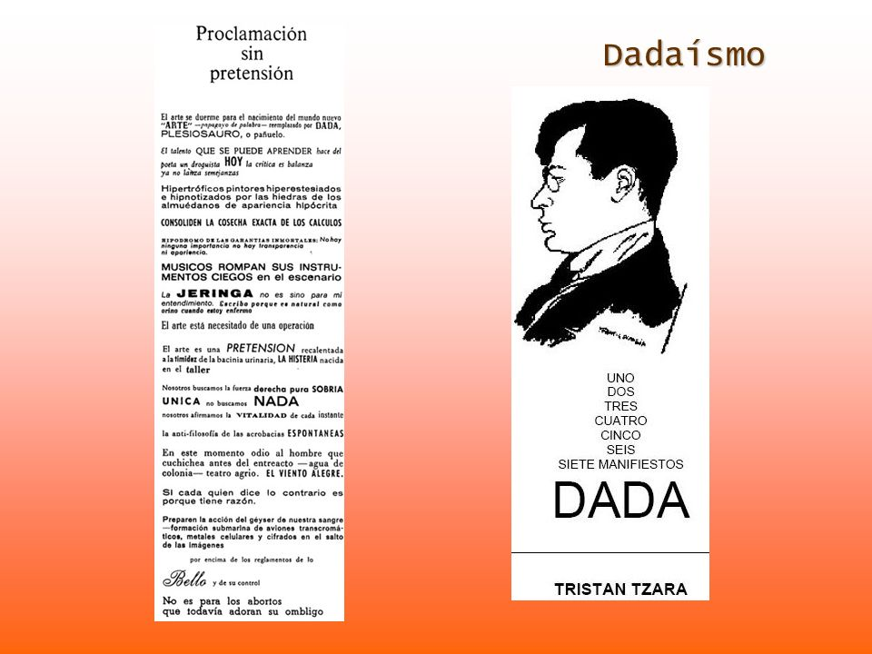 Dadaísmo Dadaísmo