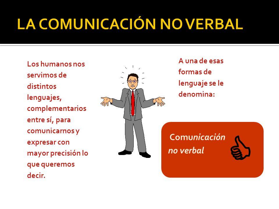 Los humanos nos servimos de distintos lenguajes, complementarios entre sí, para comunicarnos y expresar con mayor precisión lo que queremos decir. A u