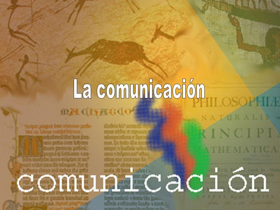 Comunicación es el intercambio de información entre un hablante y un oyente que utilizan el mismo código (lengua).