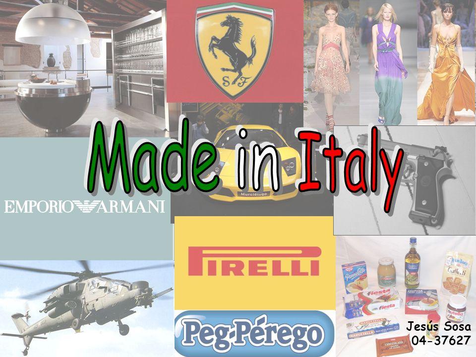 A lo largo de la historia los productos Made in Italy, se han ganado un puesto entre los mejores del mundo, abarcando todo tipo de rubros, desde textiles hasta productos infantiles, por ejemplo.