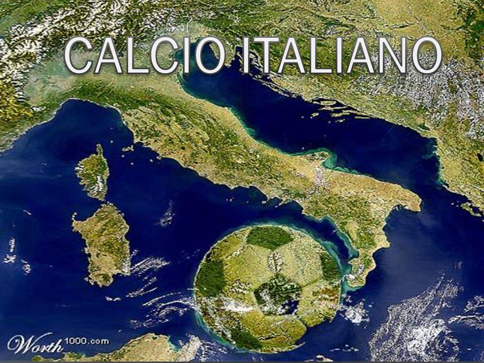 Existen teorías que ubican el origen del fútbol en varios juegos practicados durante la Edad Media, en la península itálica se conocía bajo el nombre de giuoco di calcio (juego de la patada), pero el balompié como lo conocemos hoy en día llegó a Italia, a través de los ingleses.