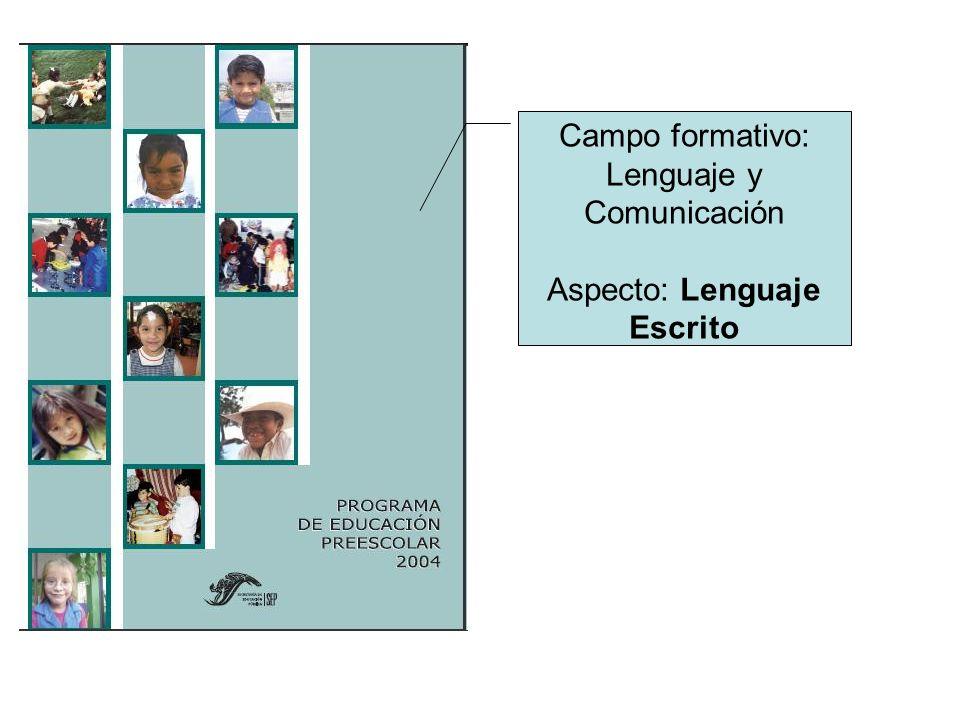 Tres niveles sucesivos en el proceso de aprendizaje del sistema de escritura.