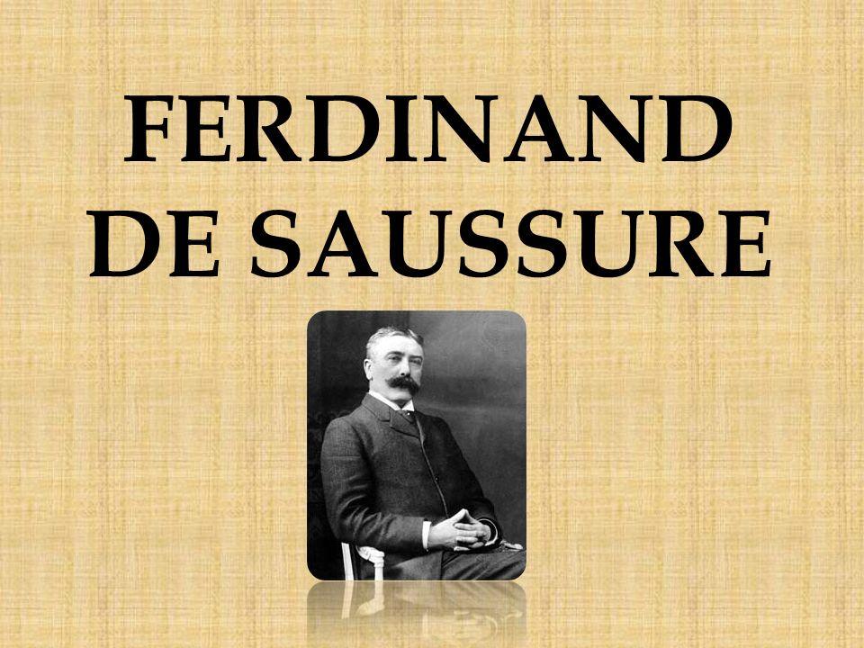 Aportaciones de Saussure a la lingüística Ferdinand de Saussure, en su Curso de lingüística general, propuso una serie de dicotomías en su afán por hacer del estudio del lenguaje una ciencia mucho más racional.