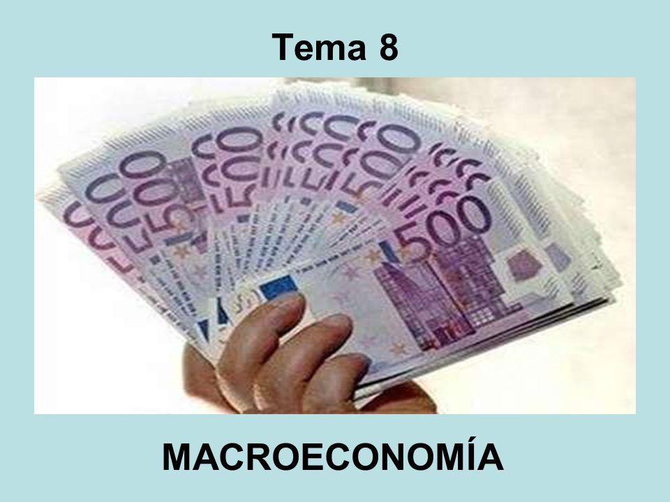 Macroeconomía: se ocupa del estudio del funcionamiento de la economía en su conjunto.